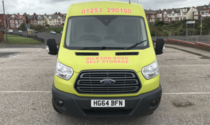 Van Hire in Blackpool